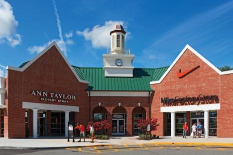 Ann Taylor / Nike Factory Store Atrium