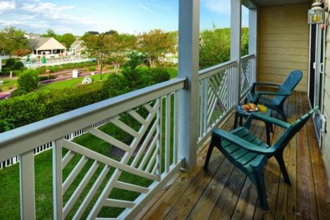 Williamsburg, VA - Wyndham Kingsgate, Balcony