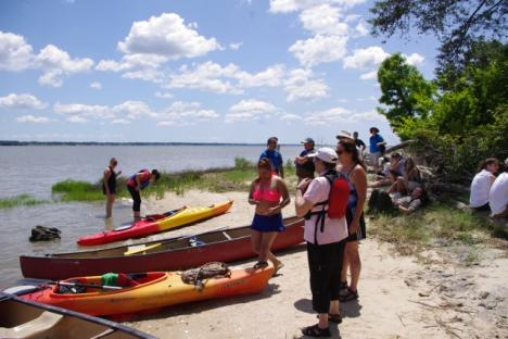 Paddle the historic river