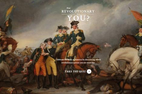How Revolutionary Are You?