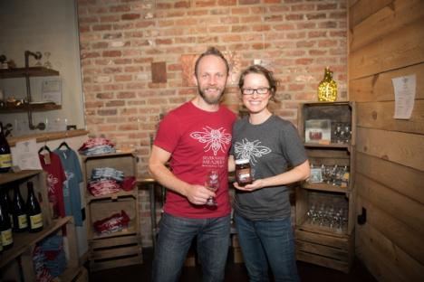 Owners Glenn and Sherri Lavender