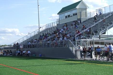 Stands at Wanner Stadium