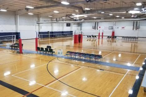 4 Volleyball Courts