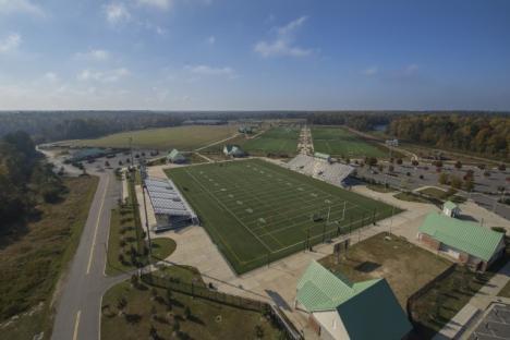 Warhill Sports Complex - aerial