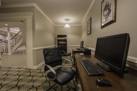 Business center for all guests to use