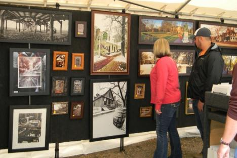 Enjoy an amazing variety of over 100 artists and fine craftsmen!