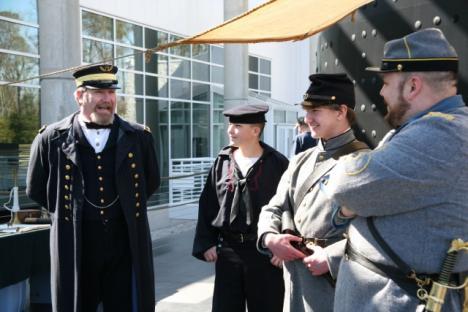 Battle of Hampton Roads at The Mariners' Museum in Newport News, VA
