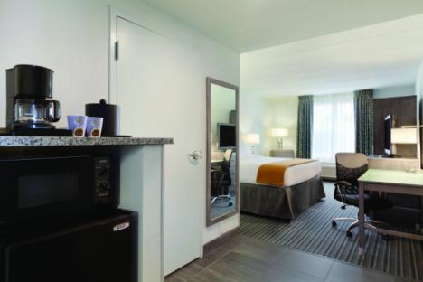 All rooms equipped with microwave & refrigerator