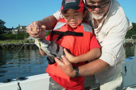 Young guest with Black Drum