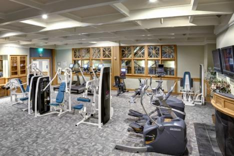Fitness Center in Sports Club at Kingsmill