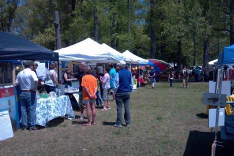 Vendors at the 2014 James RiverFest