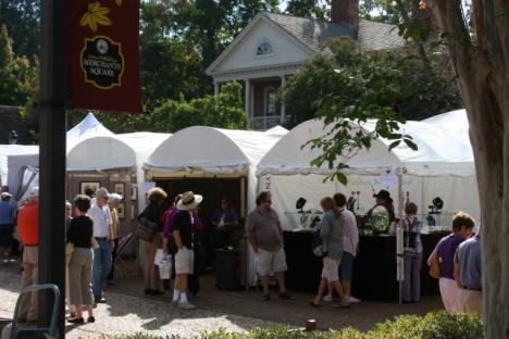 Experience all forms of art in one weekend at the Occasion for the Arts in Williamsburg!