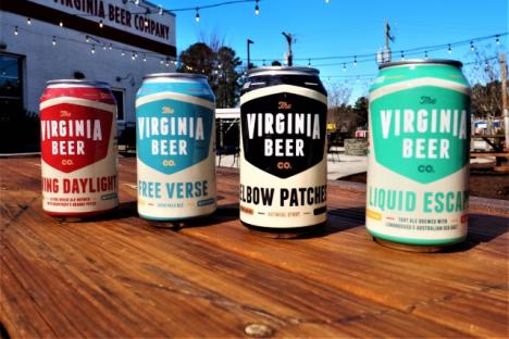 Freshly Canned Beer Available To-Go