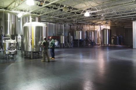 Virginia Beer Co.'s brewery