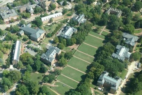 College William and Mary Sunken Garden