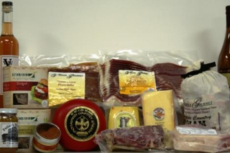 Fresh from the farm organic meats & cheeses