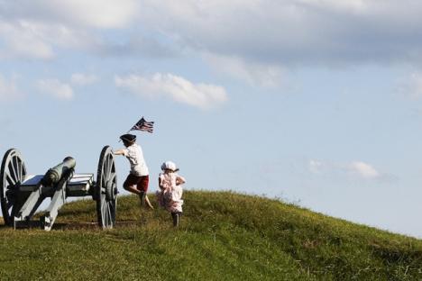 Visit where George Washington was!