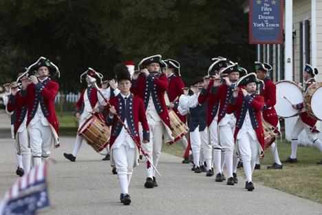 come see the Fife & Drums