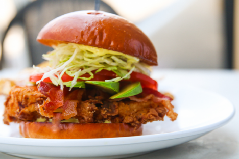 Charleston Chicken & Avocado Sandwich