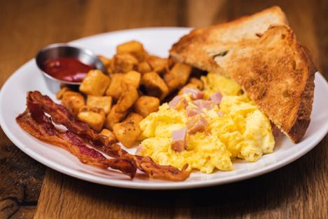 Breakfast & Brunch (Ham Scrambler)