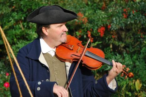 Musician at Virginia Thanksgiving Festival