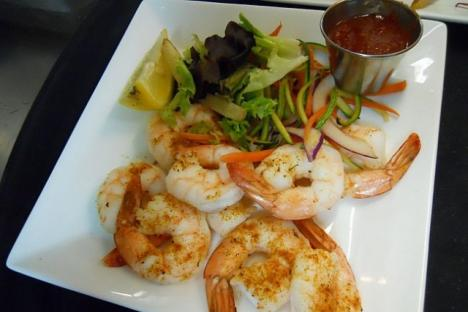 Delicious foods at Water Street Grille