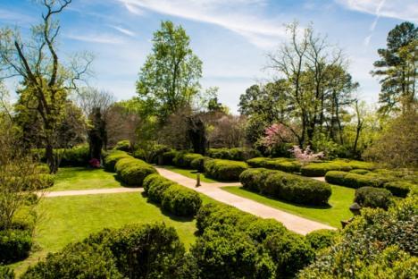 Berkeley's Boxwood gardens