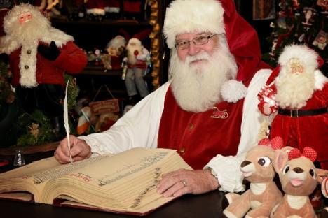 Visit with Santa year round!