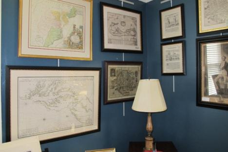 Black Dog Gallery specializes in antique prints & custom framing