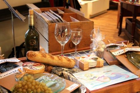 Cheese and Wine accessories