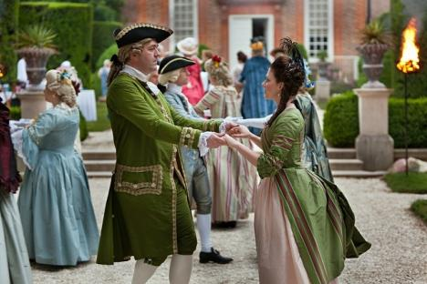 Dancing at the Governor's Palace