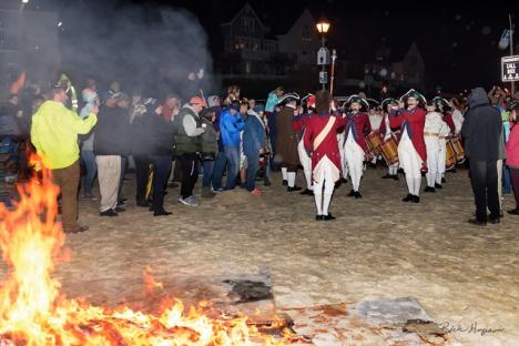 Bonfire, hot cocoa and Fife and Drums!