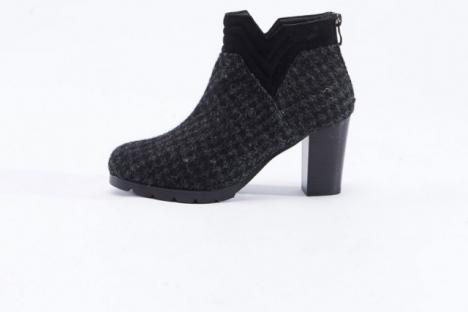 Harris Tweed ankle boots sold exclusively here