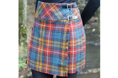 Ladies' kilt skirt