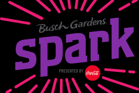 "Busch Gardens and Coca-Cola® will present ""Spark,"" an all-new, one-of-kind pyrotechnic laser light show.  Spark will perform nightly July 6 – Aug. 12 in the Royal Palace Theatre."