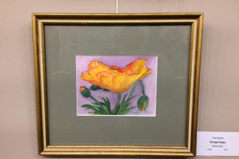 """Orange Poppy"" by Fran Jones"