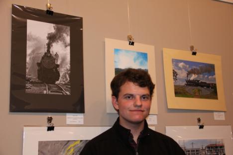 """Trains"" Digital Photos by Logan Dahir, Bruton HS, 3rd place winner"