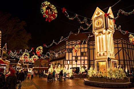 Christmas Town brings holiday traditions to life with heartwarming shows, delicious holiday dining and festive shopping opportunities.