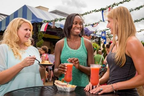 Tickle those taste buds with the culinary delights at Busch Gardens® Food & Wine Festival.