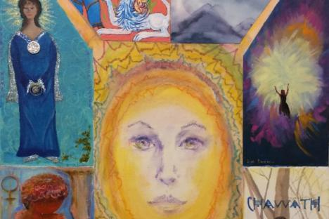 """""""Goddess Energy"""" by Joanne Limric and the 9-Women Artists Group"""