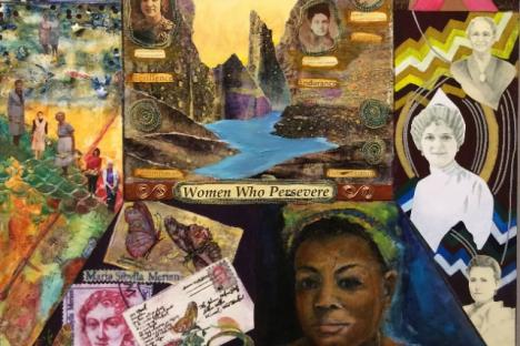 """""""Perseverance"""" by Ginny Fisher and the 9-Women Artists Group"""