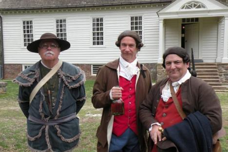 Colonial times interpreters!
