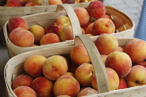 local fresh peaches