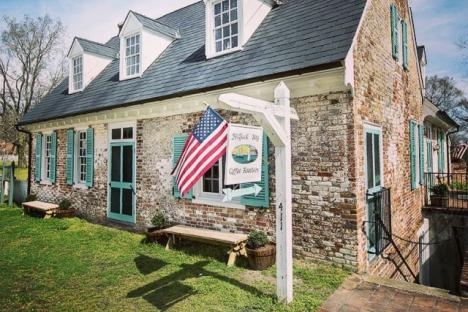 Mobjack Bay Coffee Roasters and Petite Cafe in the Historic Cole Digges House c 1720