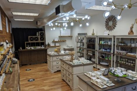 Inside Perfectly Natural Soap on Prince George St