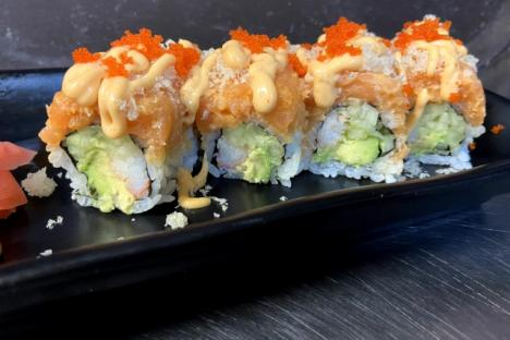 Lava Sushi Roll - ©Oishii Restaurant