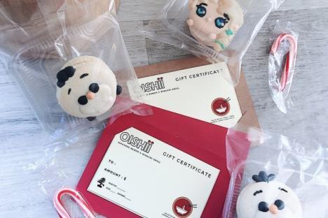 Gift Cards & Macarons - © Oishii Restaurant