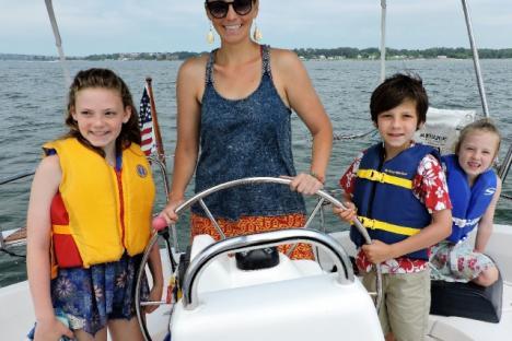 Take the family sailing