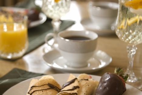 Join us each morning for a gourmet breakfast included!