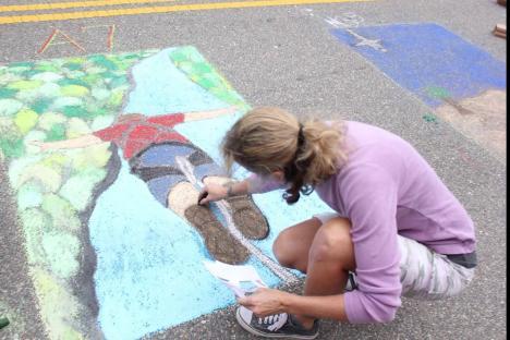 Embedded thumbnail for New Town Chalk & Family Fest